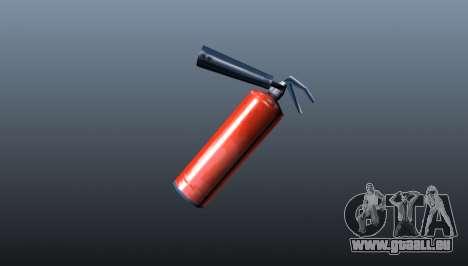 Extincteur d'incendie pour GTA 4 secondes d'écran