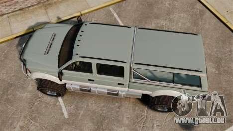 GTA V Vapid Sandking XL 4500 für GTA 4 rechte Ansicht