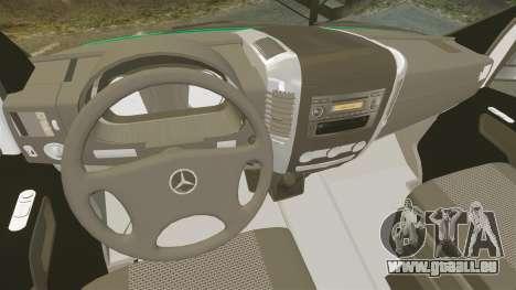 Mercedes-Benz Sprinter Australian Ambulance ELS pour GTA 4 Vue arrière