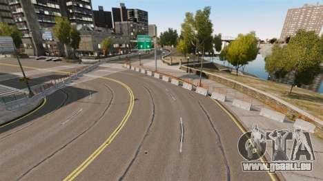 Liberty City Race Track für GTA 4 Sekunden Bildschirm