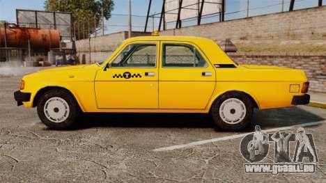 Gaz-31029 taxi pour GTA 4 est une gauche