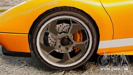 GTA V Infernus Pegassi pour GTA 4 Vue arrière