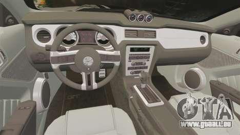 Ford Mustang 2012 Boss 302 Fiery Horse für GTA 4 Seitenansicht