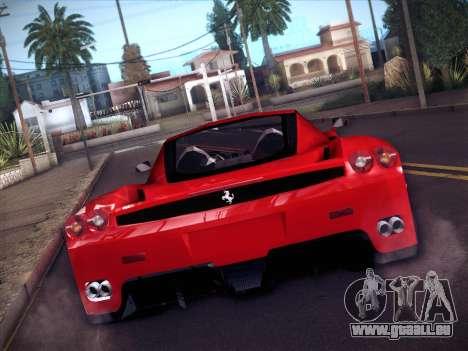 Ferrari Enzo 2003 für GTA San Andreas Rückansicht
