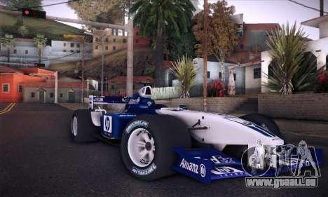 BMW Williams F1 pour GTA San Andreas moteur