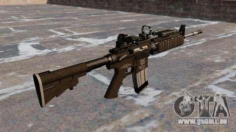 Automatische Carbine M4 Red Dot Black Edition für GTA 4 Sekunden Bildschirm