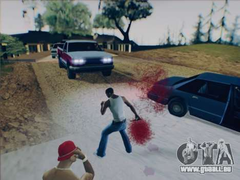 Battlefield 2142 Knife pour GTA San Andreas cinquième écran