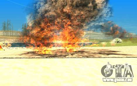 New Effects v1.0 für GTA San Andreas her Screenshot
