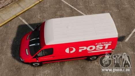 Mercedes-Benz Sprinter 2011 Australia Post für GTA 4 rechte Ansicht