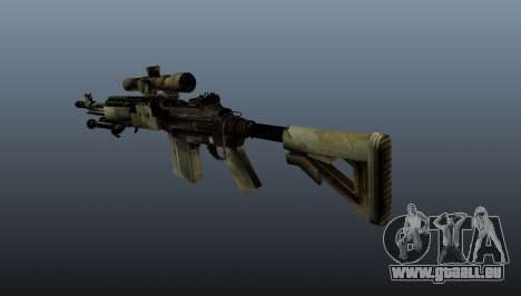 Fusil de sniper M21 Mk14 v7 pour GTA 4 secondes d'écran