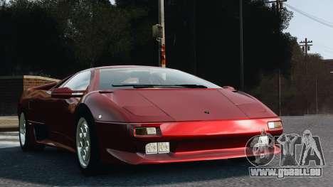Lamborghini Diablo VT 1994 für GTA 4 hinten links Ansicht