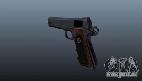 Halbautomatische Pistole Hitman Silverballer für GTA 4 Sekunden Bildschirm