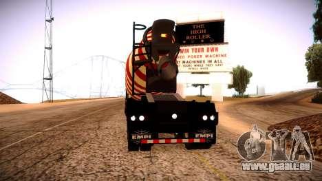Cement Mixer pour GTA San Andreas laissé vue