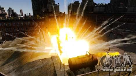 Nouveaux effets de l'explosion et l'incendie pour GTA 4 troisième écran