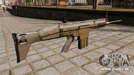 FN SCAR-H-Gewehr für GTA 4 Sekunden Bildschirm