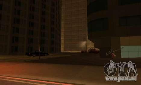 Il a achevé la construction de San Fierro V1 pour GTA San Andreas cinquième écran