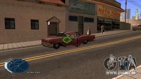 C-HUD Assasins Creed 3 III pour GTA San Andreas deuxième écran