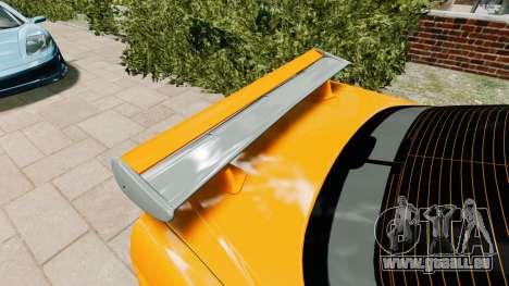 Nissan Skyline R34 GT-R NFS Underground pour GTA 4 Vue arrière