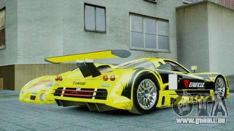 Nissan R390 GT1 für GTA 4 hinten links Ansicht