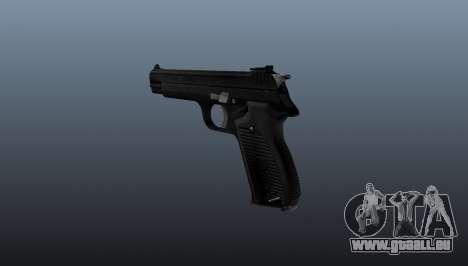 Halbautomatische Pistole SIG P210 für GTA 4 Sekunden Bildschirm