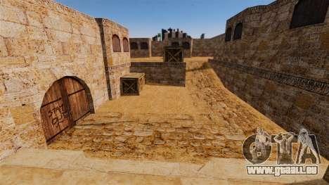 Lage von Counter-Strike De_Dust2 für GTA 4 fünften Screenshot