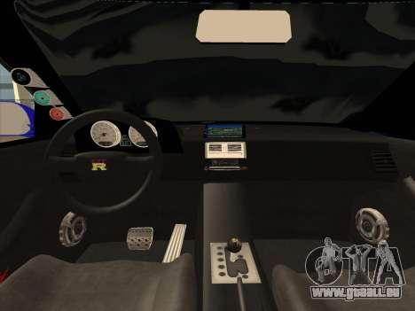 Nissan Skyline GTR pour GTA San Andreas vue de droite