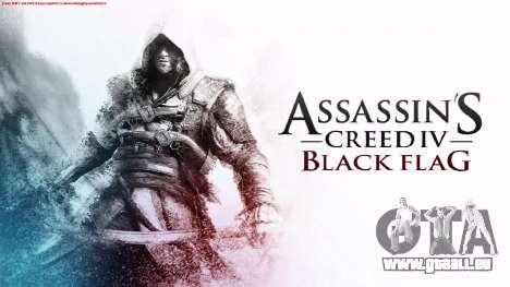 Laden von Bildschirmen in Assassins Creed für GTA San Andreas