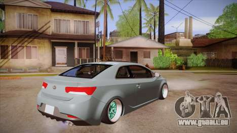Kia Cerato pour GTA San Andreas vue de droite