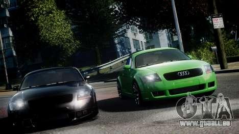 Audi TT Coupe 3.2 Quattro 2004 für GTA 4 hinten links Ansicht