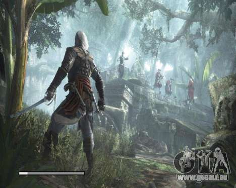 Laden von Bildschirmen in Assassins Creed für GTA San Andreas her Screenshot