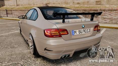 BMW M3 E92 GTS 2010 für GTA 4 hinten links Ansicht