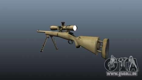 Le fusil de sniper M24 pour GTA 4 secondes d'écran