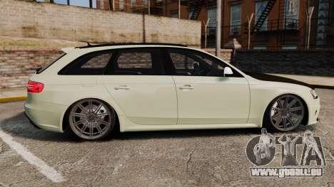 Audi RS4 Avant VVS-CV4 2013 pour GTA 4 est une gauche