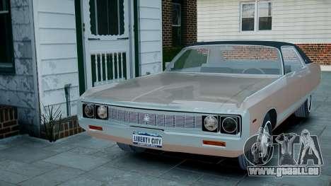 Chrysler New Yorker 1971 pour GTA 4