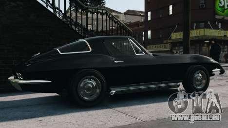 Chevrolet Corvette Stingray 427 1967 pour GTA 4 est une gauche