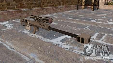 Fusil de précision Barrett M95 pour GTA 4