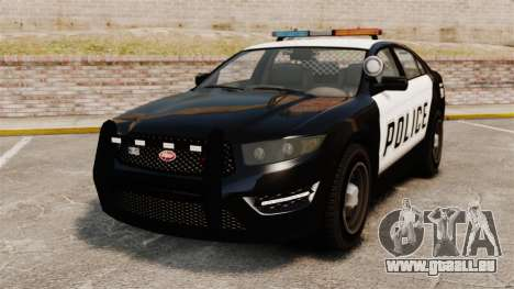 GTA V Vapid Police Interceptor für GTA 4