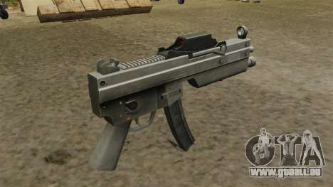 Mise à jour MP5 mitraillette pour GTA 4 secondes d'écran