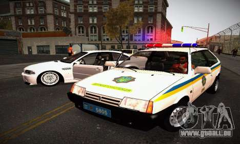 VAZ 2108 Ukraine REC pour GTA San Andreas