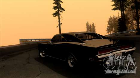 Dodge Charger 440 (XS29) 1970 pour GTA San Andreas laissé vue