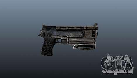 pistolet 10 mm pour GTA 4 troisième écran