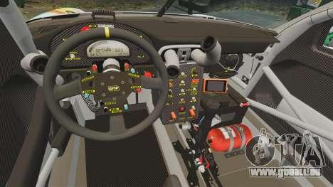 Porsche GT3 RSR 2008 Hatsune Miku für GTA 4 Innenansicht