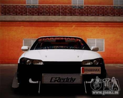 Nissan Silvia S15 JDM pour GTA San Andreas vue de droite