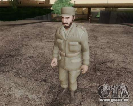 Fidel Castro pour GTA San Andreas