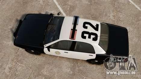 GTA V Police Cruiser [ELS] pour GTA 4 est un droit