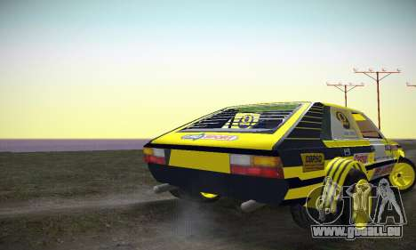 FSO Polonez 2500 Racing 1978 pour GTA San Andreas vue de droite