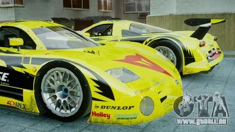 Nissan R390 GT1 für GTA 4 linke Ansicht