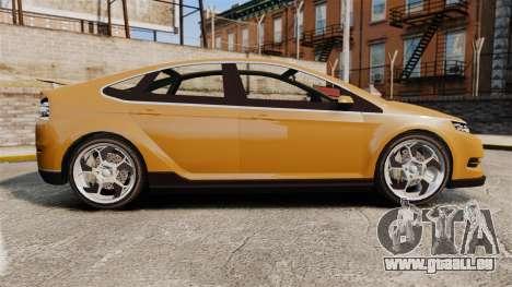 GTA V Cheval Surge für GTA 4 linke Ansicht