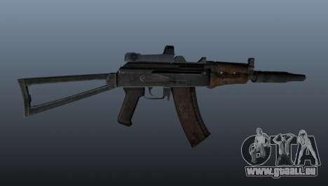 Automatische AKS74U für GTA 4 dritte Screenshot