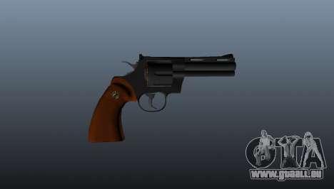 Revolver Python 357 4 in. für GTA 4 dritte Screenshot